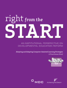 Right from the Start Overview - Assisted Learning Strategies cover image