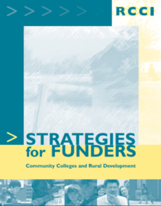 Strategies for Funders - Community Colleges and Rural Development cover image