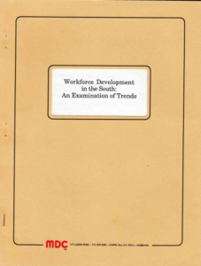Workforce Development in the South cover image