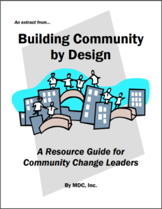 Building Community by Design - An Extract cover image